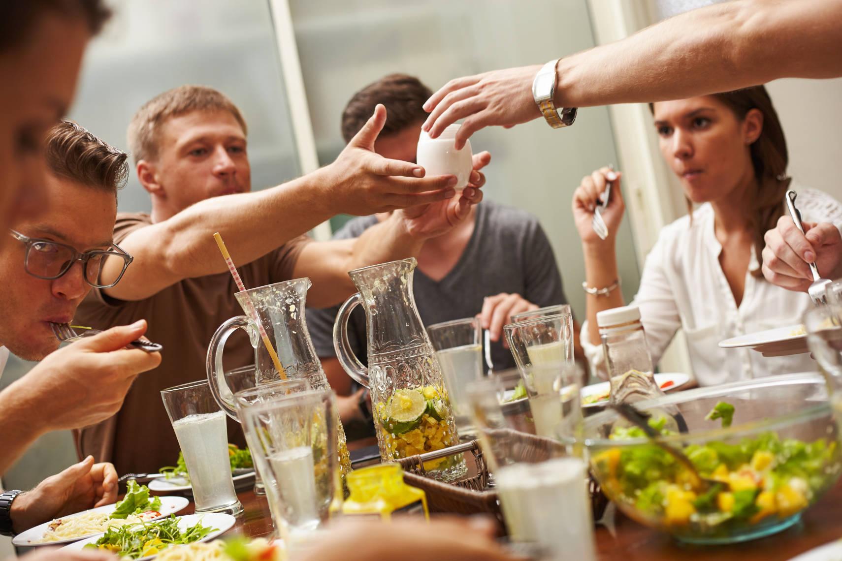 Symbolbild - gemeinsam Essen