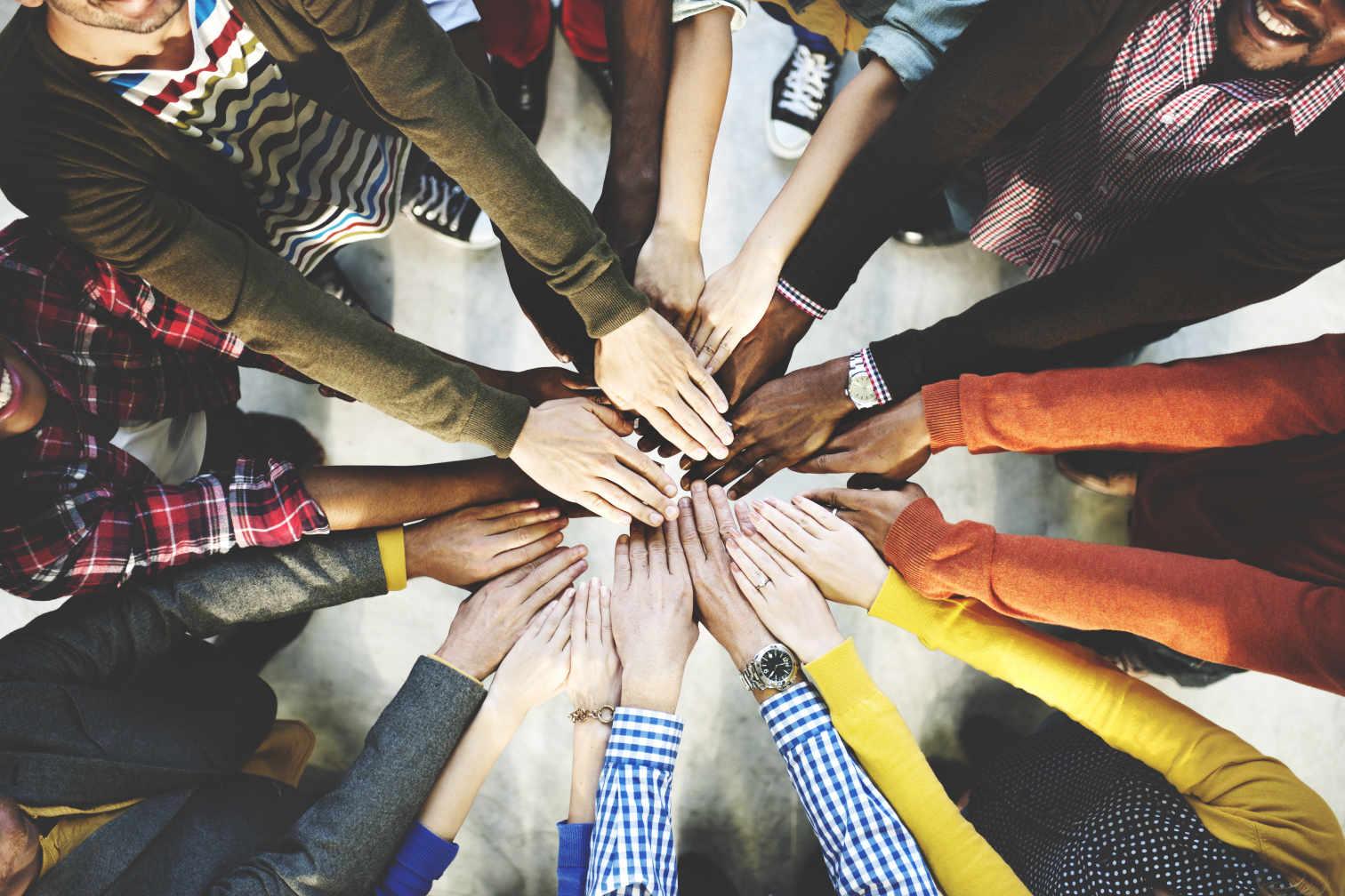 Symbolbild - Zusammen mehr erreichen